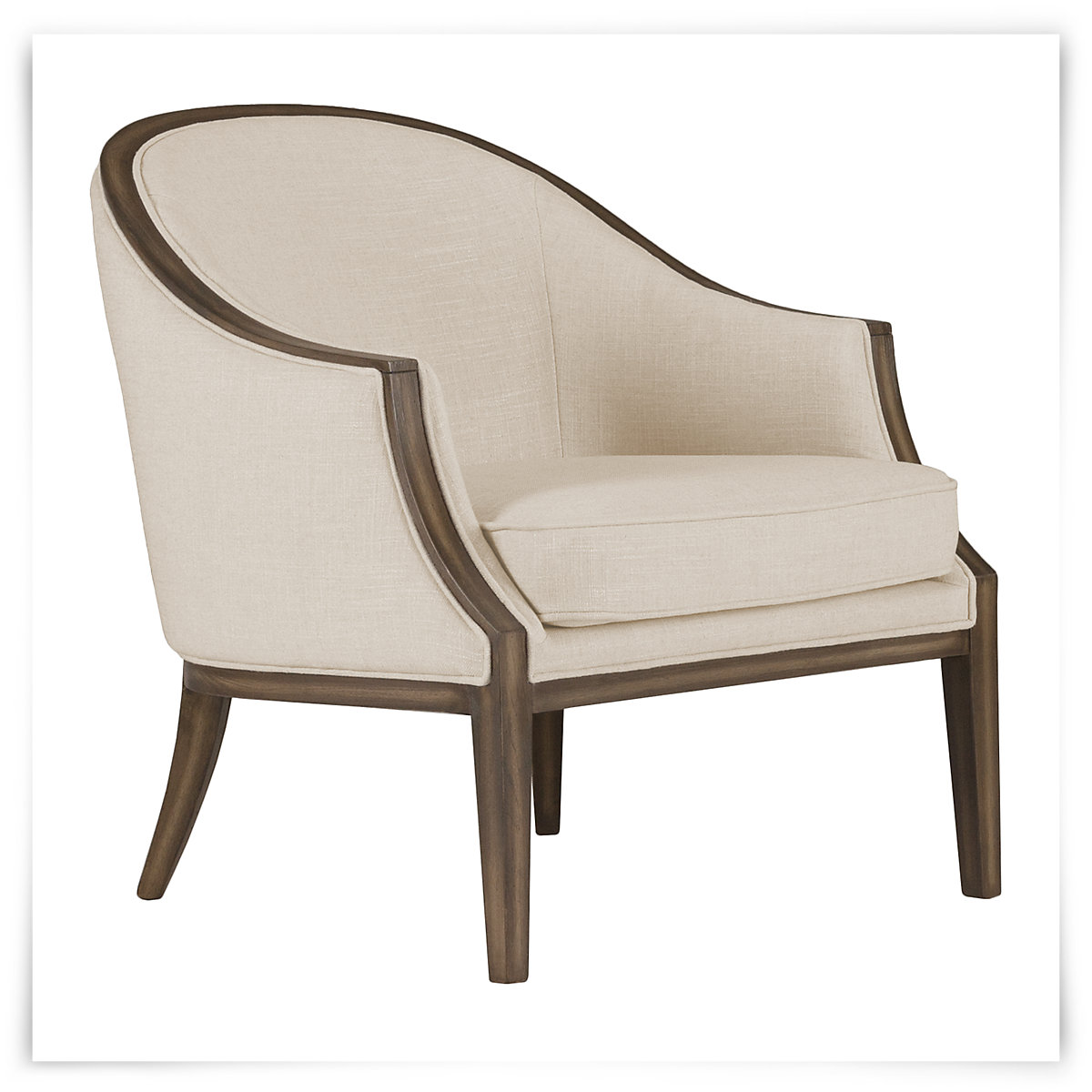 City furniture kensie beige fabric accent chair for Furniture chairs