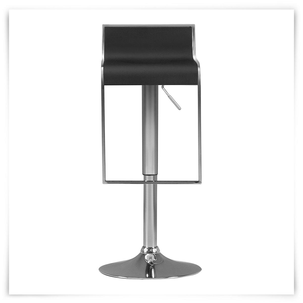 City Furniture Oslo Black Adjustable Stool