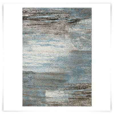 city furniture blue 5x8 area rug