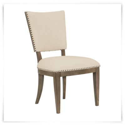 City Furniture Preston Gray Upholstered Side Chair