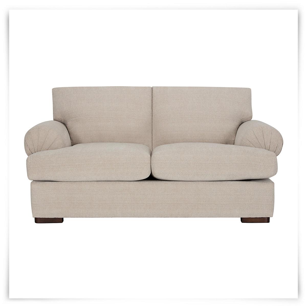 City Furniture Belair Lt Taupe Microfiber Loveseat