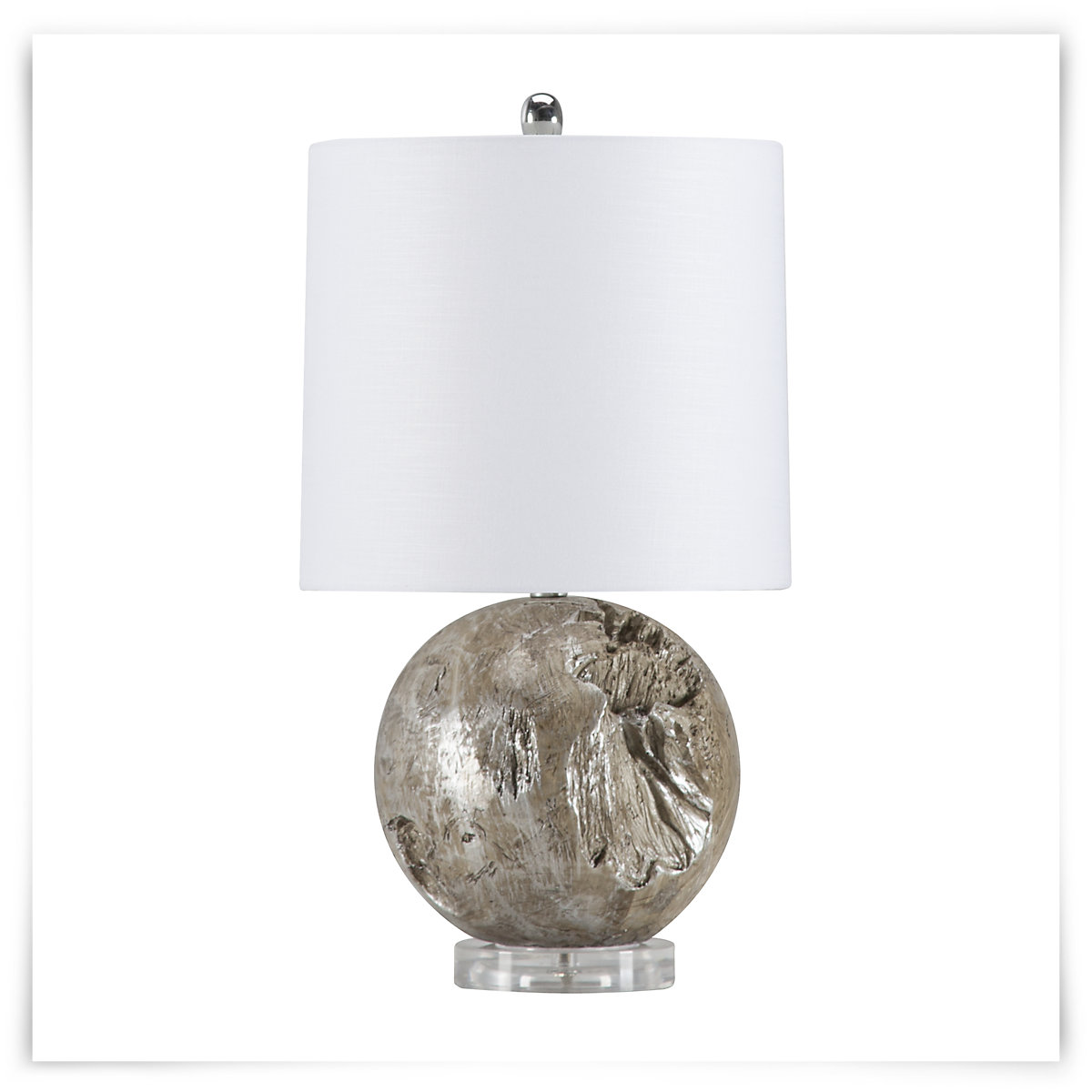 Grey round table lamp best inspiration for table lamp city furniture fossil gray round table lamp geotapseo Images