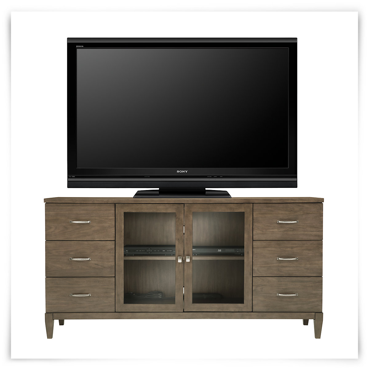 City Furniture Preston Gray 72 TV Stand