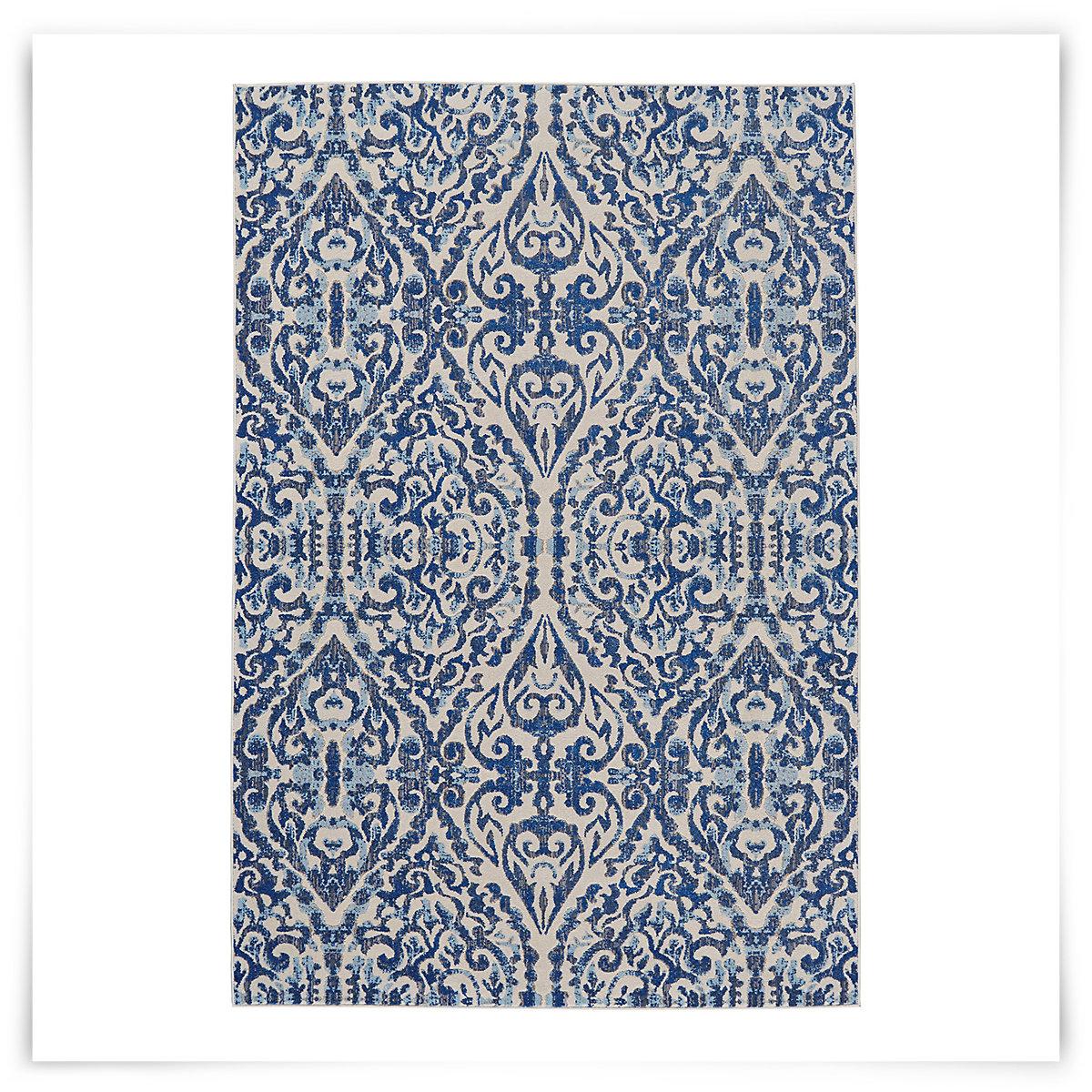 city furniture milton blue 5x8 area rug. Black Bedroom Furniture Sets. Home Design Ideas