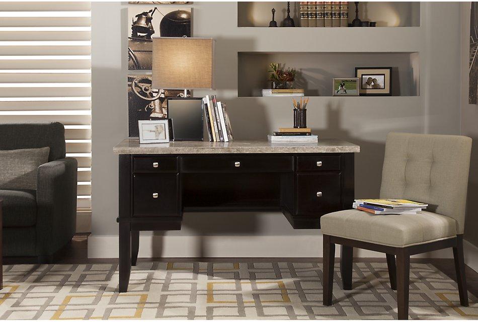 Monark Marble  Writing Desk