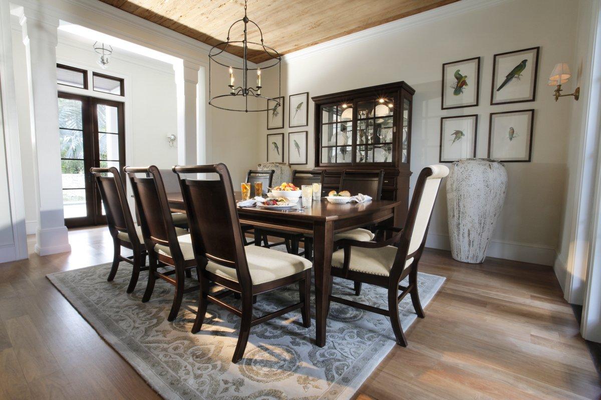 city furniture canyon mid tone rectangular dining room