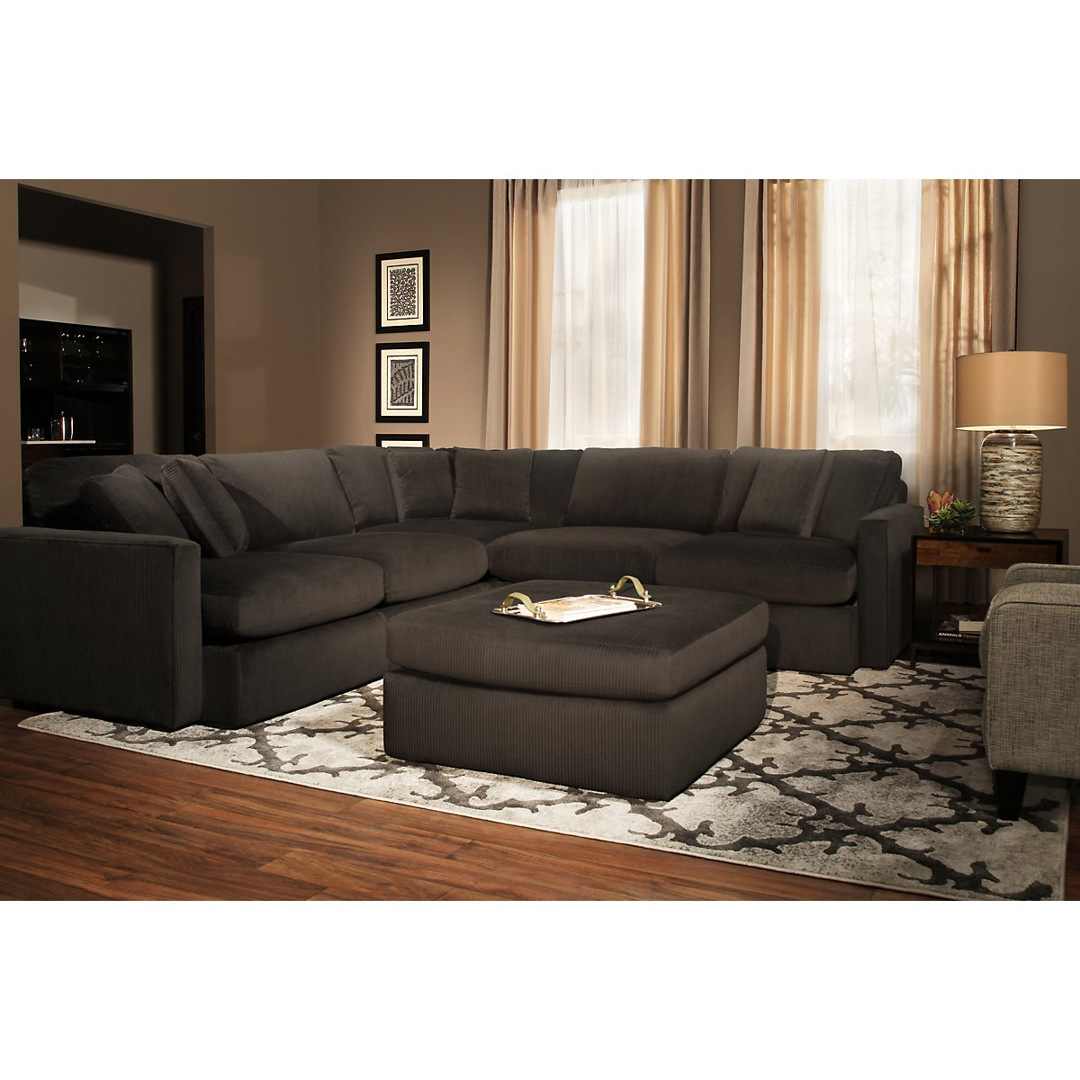 Kevin Charles Sectional Sofa