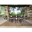 Bayberry Dark Tone Rectangular Table & 4 Chairs