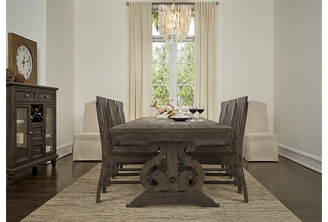 Sonoma Dark Tone Wood Dining Room