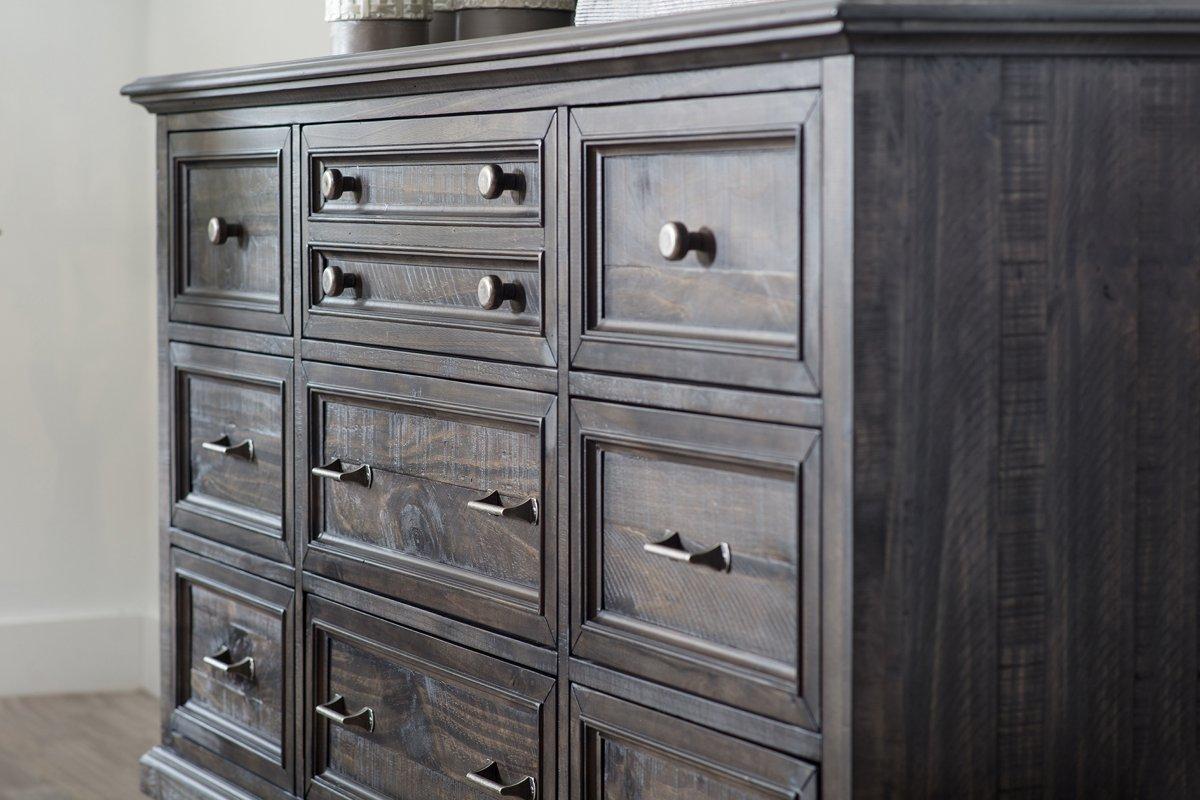 Sonoma Dark Tone Wood Dresser