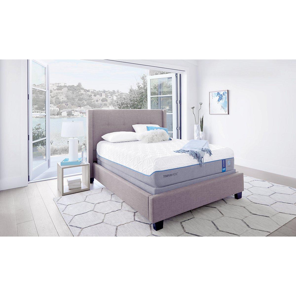 City furniture cld lux bre tempur up adjustable mattress set for Furniture mattress city