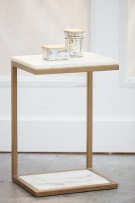 Kaia Marble Accent Table. VIEW LARGER