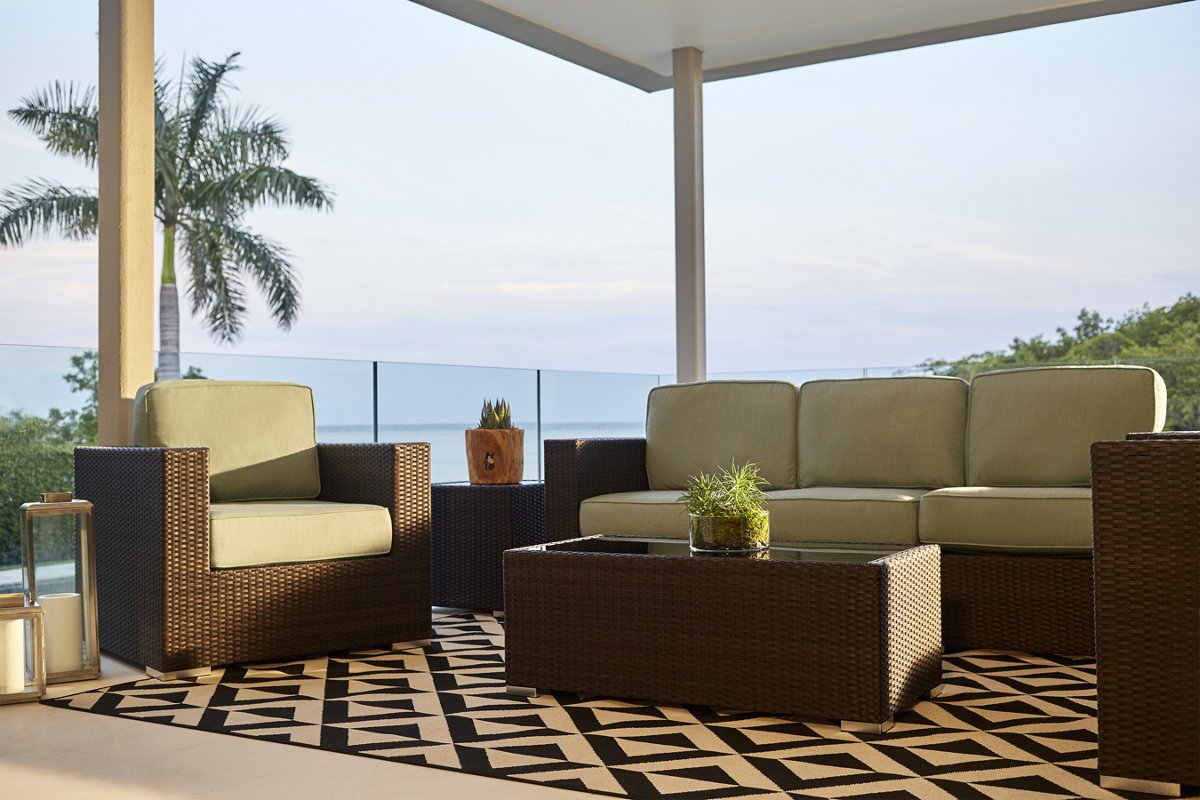 Outdoor living room set