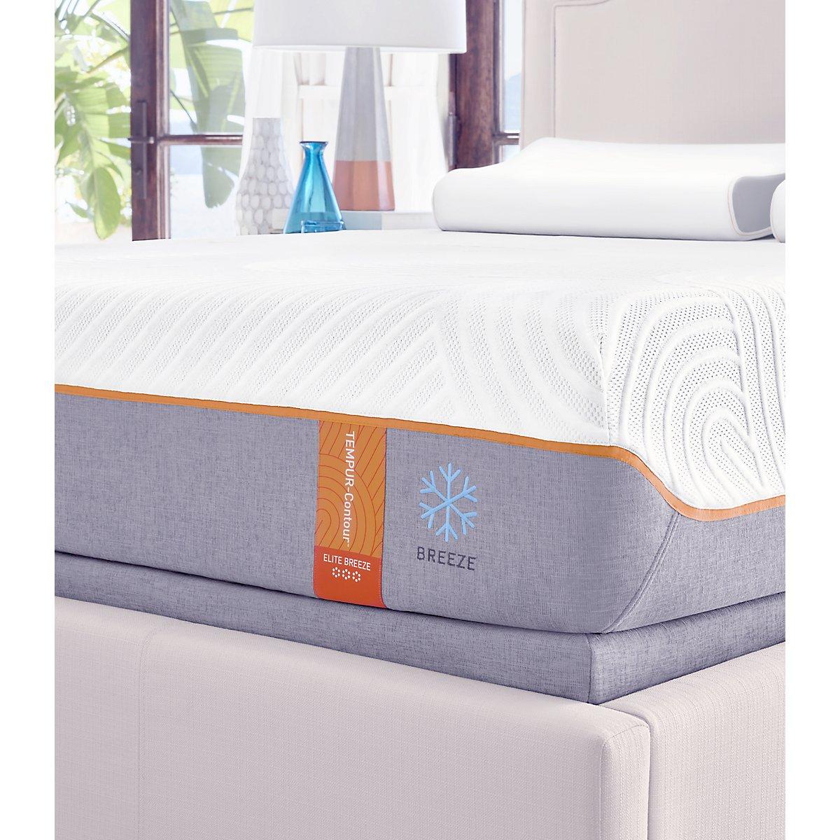 TEMPUR-Contour™ Elite Breeze Tempur® Low-Profile Mattress Set