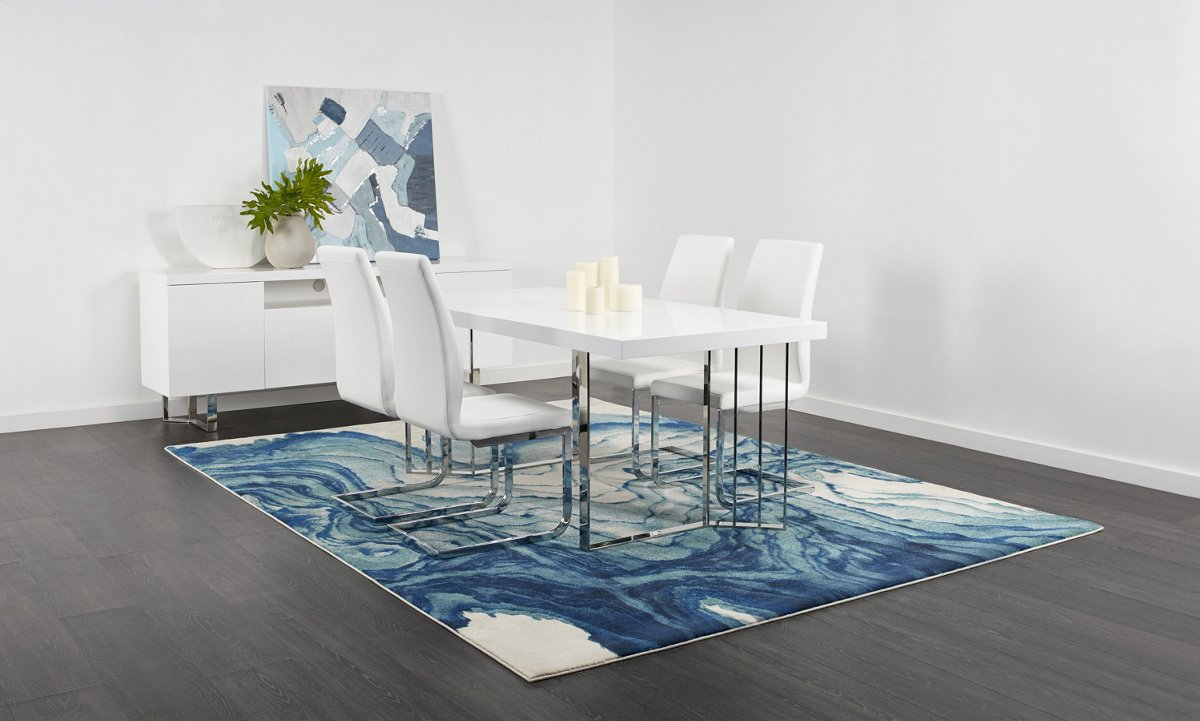 Axel White Dining Room