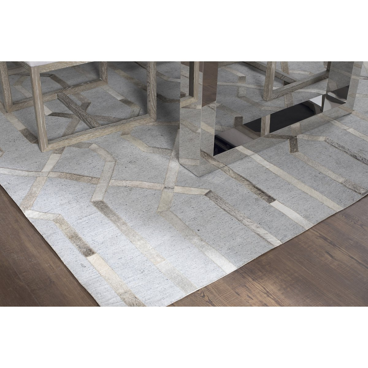 City Furniture Alloy Gray 8x10 Area Rug
