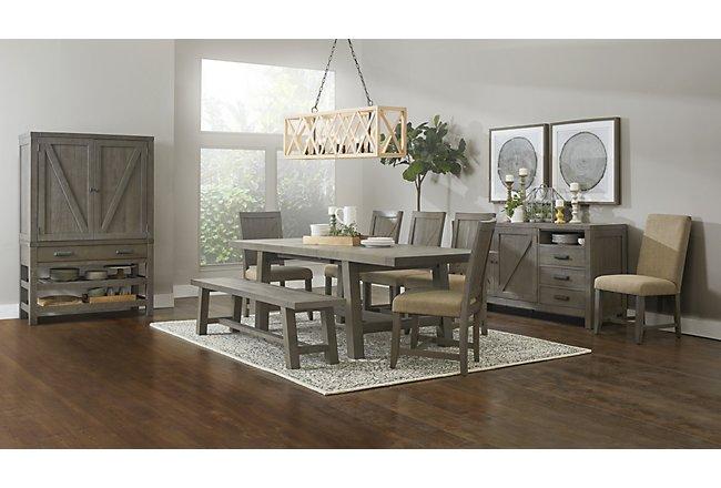 Taryn Gray Wood Dining Room