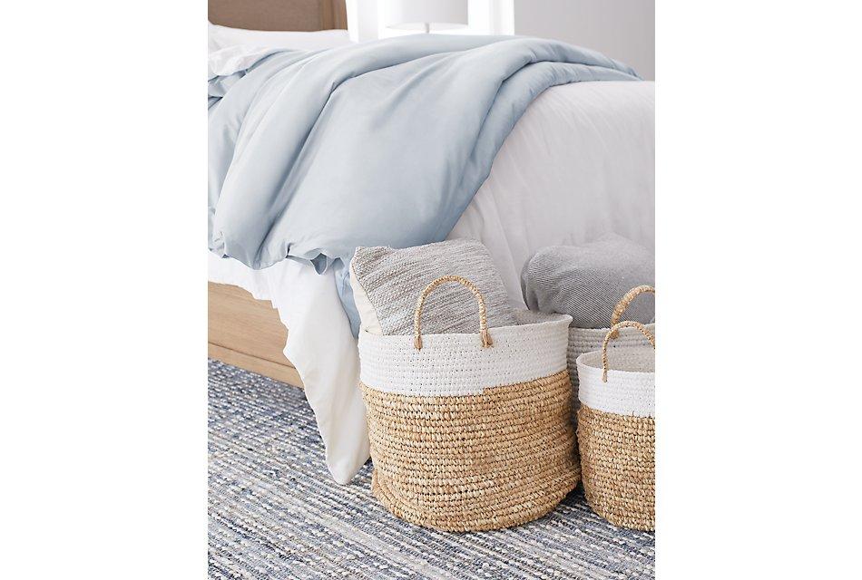 Cotton Sateen Light Blue  300 Thread Duvet Set