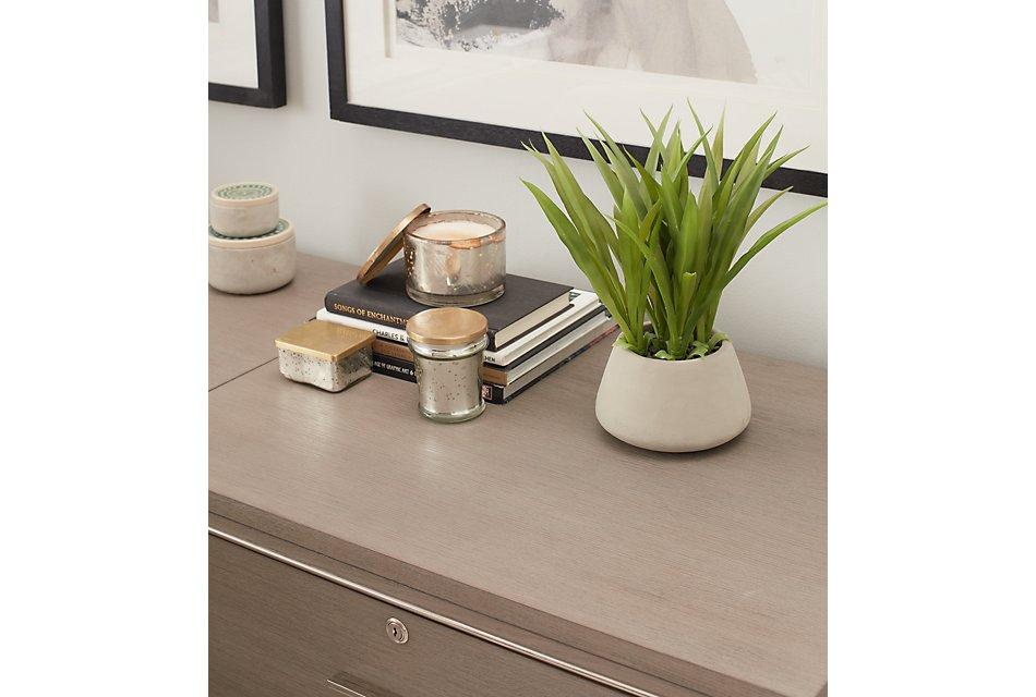 Highline Gray  L Desk