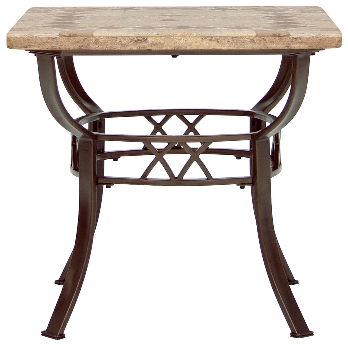 Brookside Stone Square End Table
