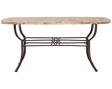 Brookside Stone Rectangular Table