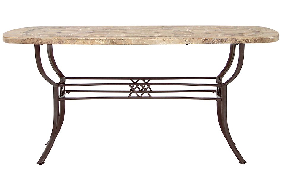 Brookside Stone Rectangular Table