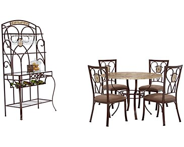 Brookside Round Dining Room