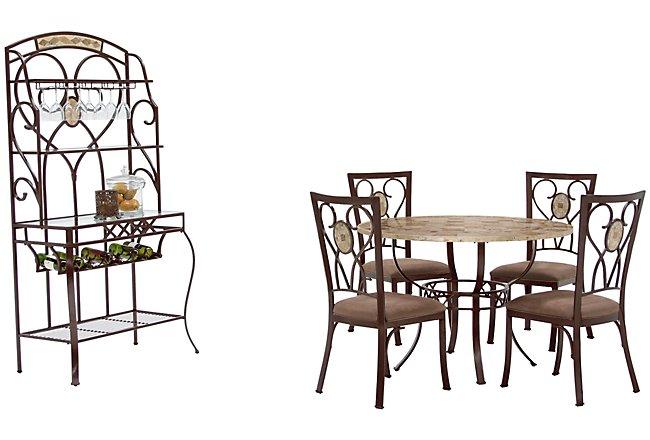 Brookside Round Dining Room