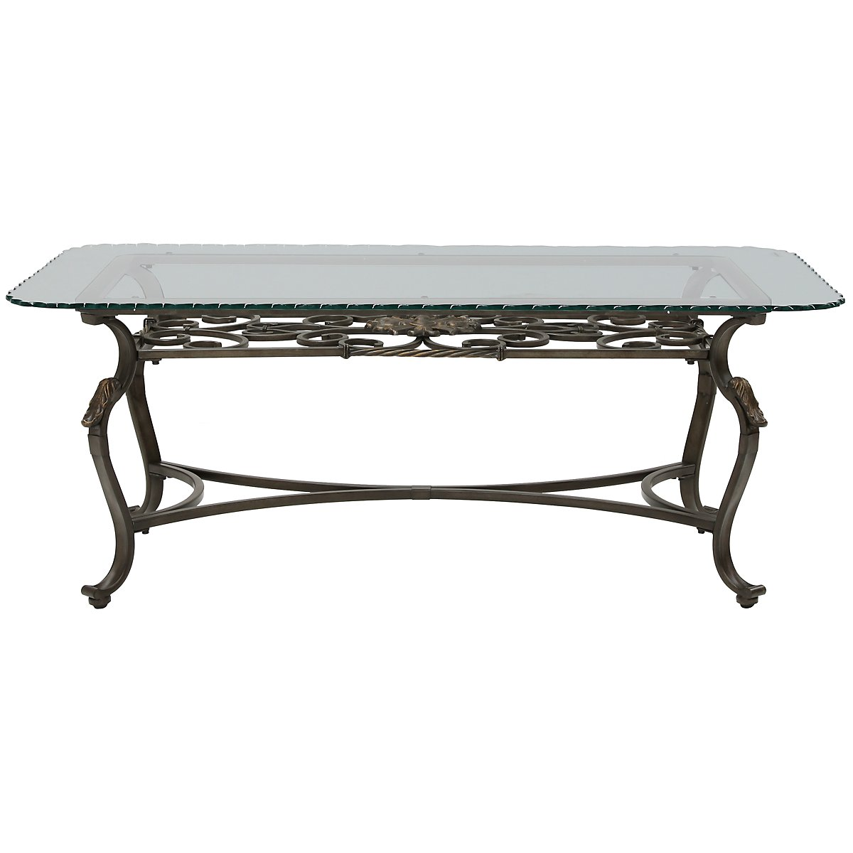 Westcot2 Glass Rectangular Coffee Table