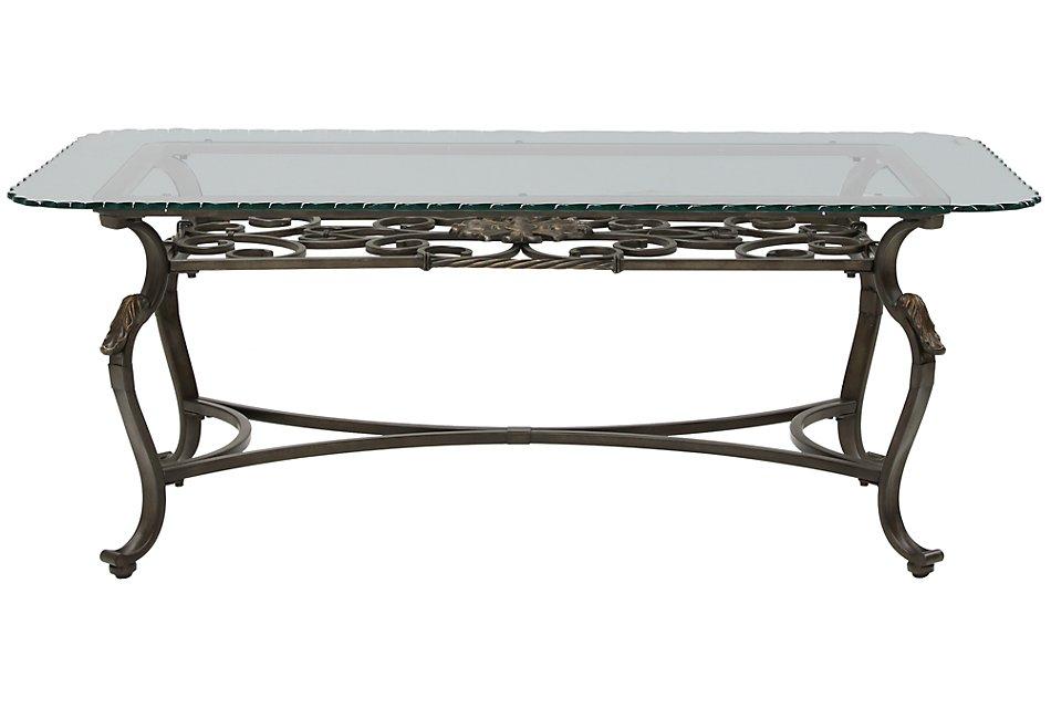Westcot2 GLASS  Rectangular Coffee Table