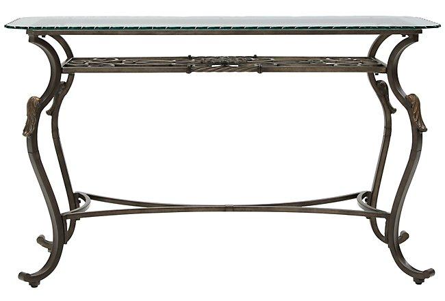 Westcot2 Glass Sofa Table