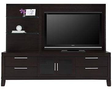 "Encore2 Dark Tone 80"" Entertainment Unit"
