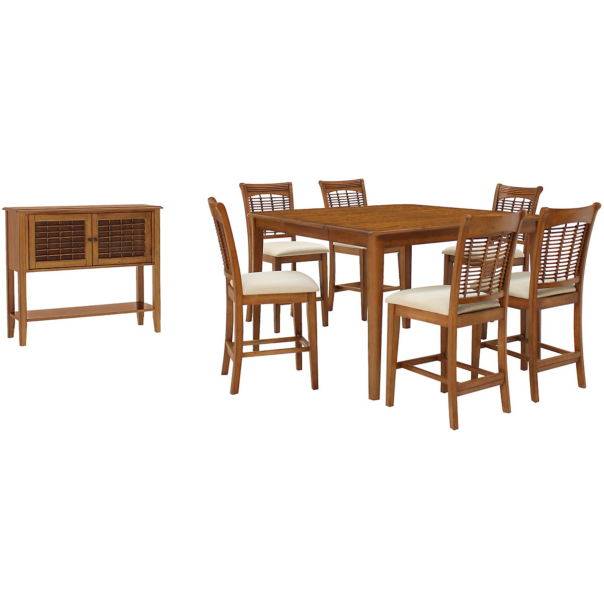 Bayberry Mid Tone High Dining Room