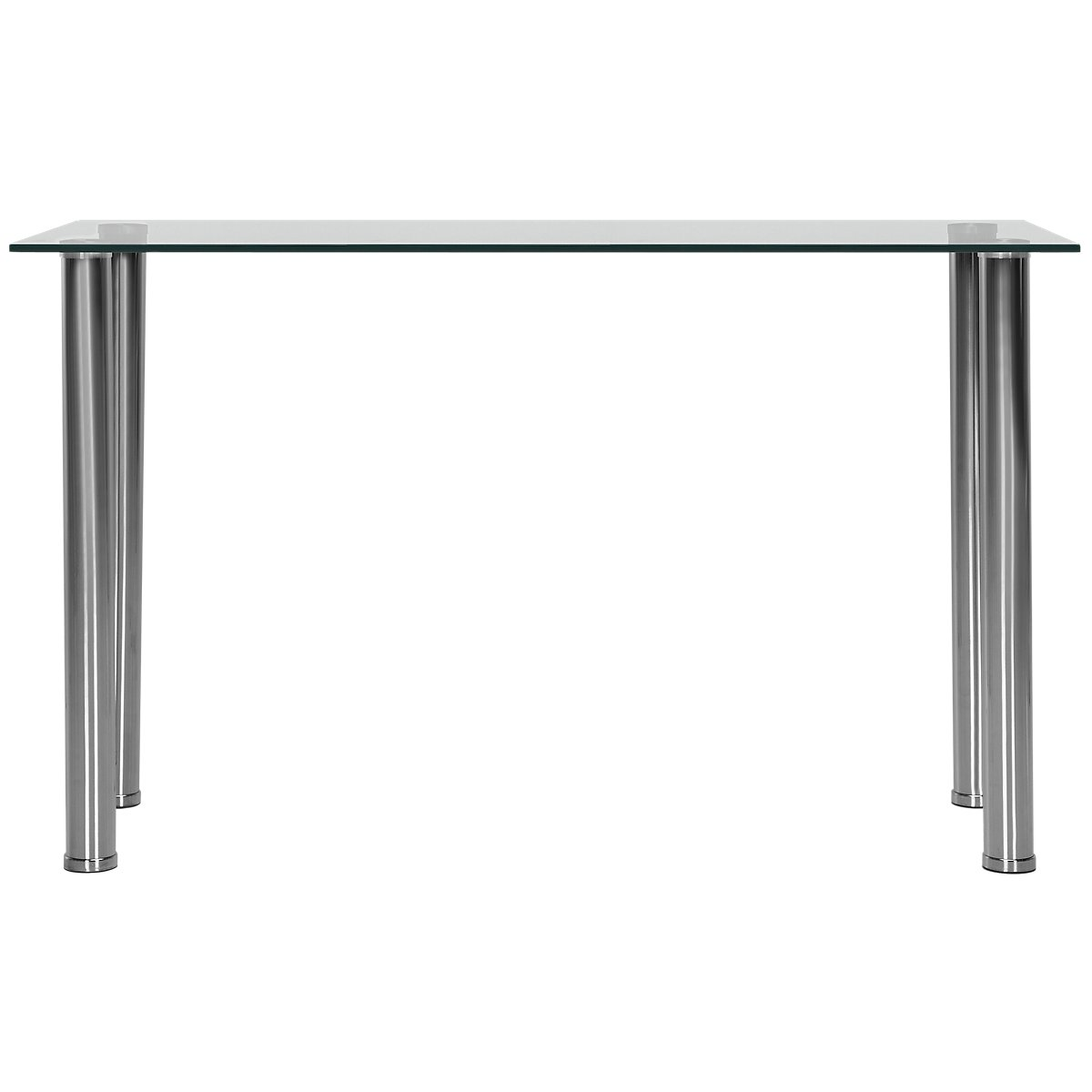 Napoli Glass Glass Sofa Table