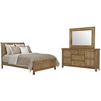 Isle Light Tone Panel Bedroom