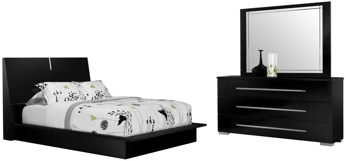Dimora Bedroom Set Dimora Black Dresser Amp Mirror