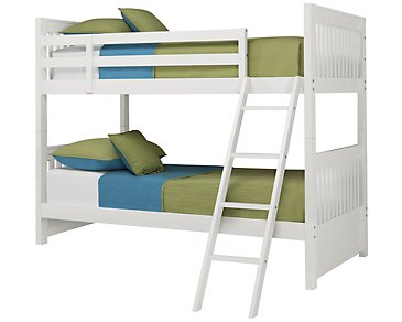 Lauren White Bunk Bed