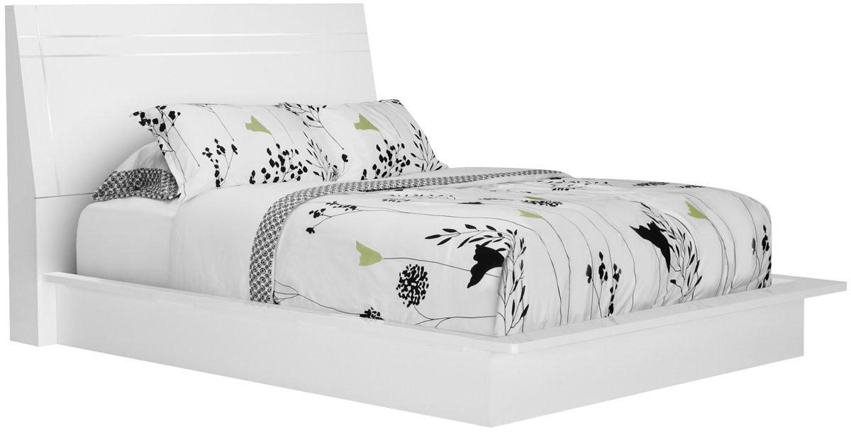 White Wood Bed Frames city furniture | bedroom furniture | beds