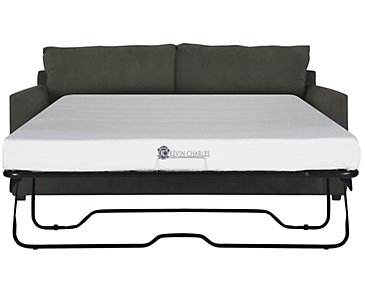 Express3 Dark Gray Microfiber Memory Foam Sleeper