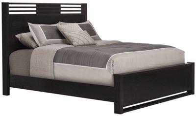 Gianna Dark Tone Panel Bed