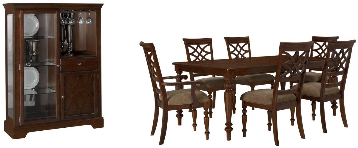 Oxford Mid Tone Wood Dining Room