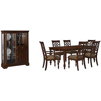 Oxford Mid Tone Rectangular Dining Room