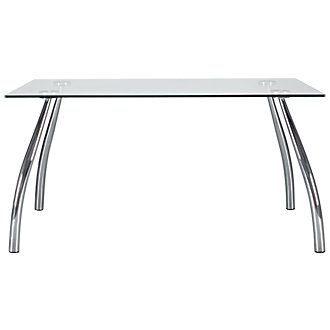 Mensa Glass Rectangular Table