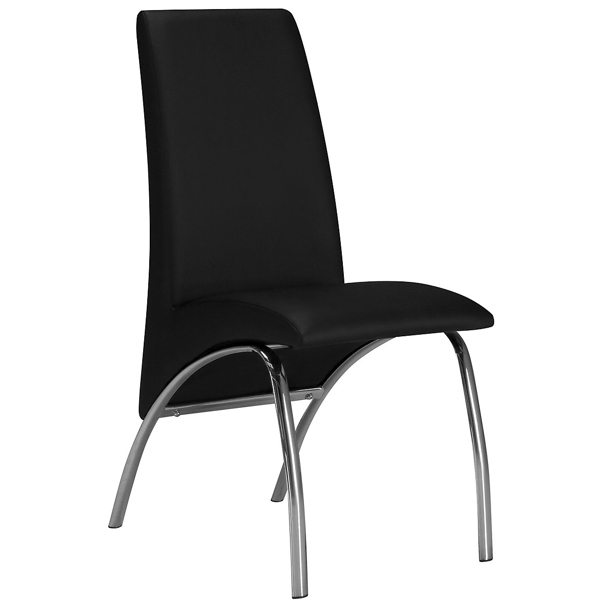 Mensa Black Upholstered Side Chair