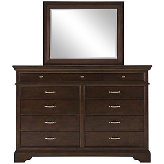 Canyon Dark Tone Large Dresser & Mirror