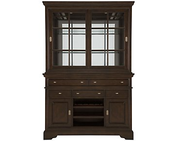 Canyon Dark Tone China Cabinet