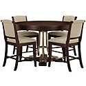Canyon Dark Tone Round High Dining Room