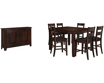 Mango2 Dark Tone High Dining Room