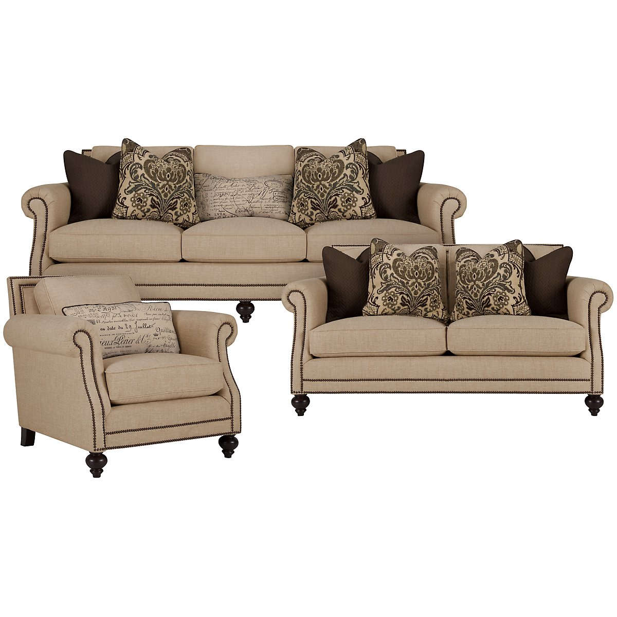 Bernhardt brae sofa bernhardt living room brae sectional for Bernhardt furniture