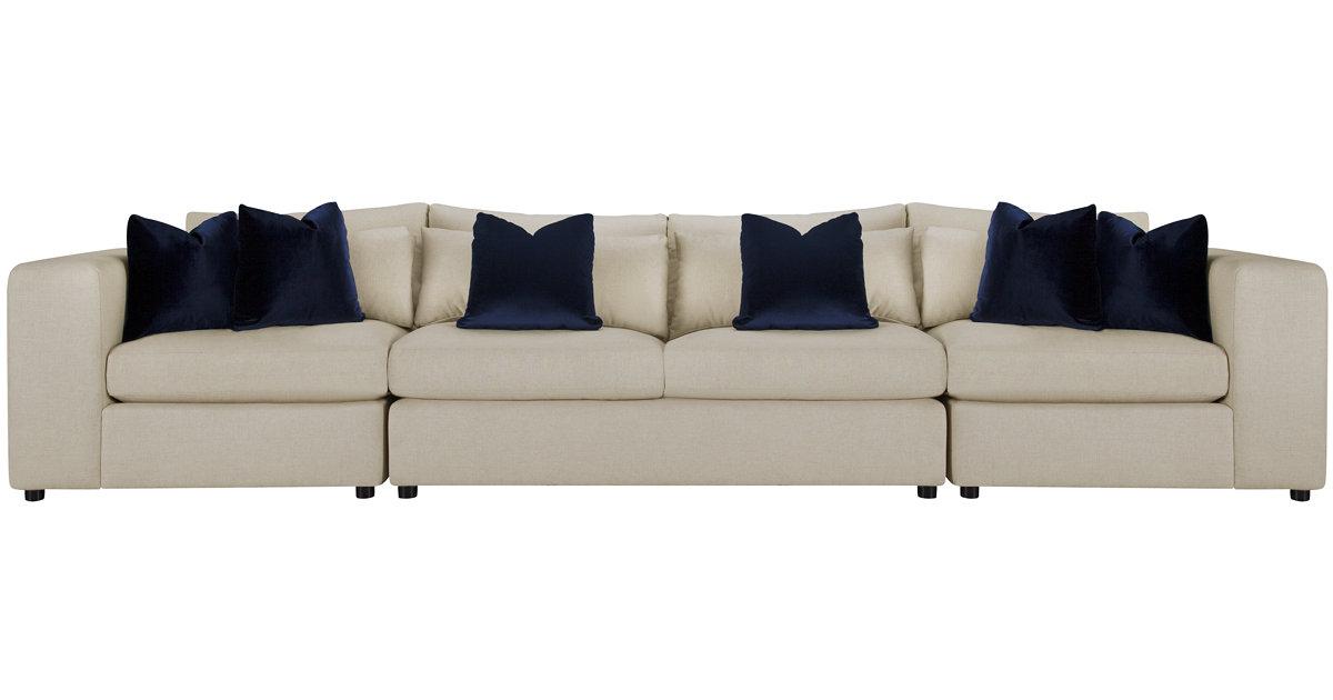 como light beige fabric large sofa. Black Bedroom Furniture Sets. Home Design Ideas